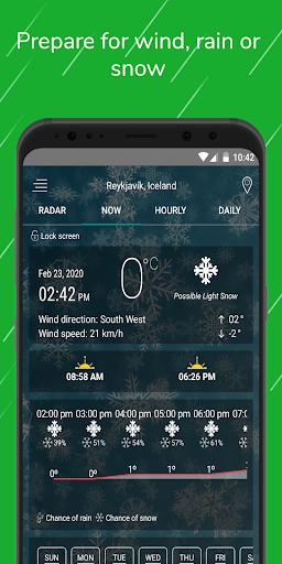 Weather Radar Free — Live Maps & Alerts screenshot 3