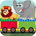 Circus Train Kids Match Game