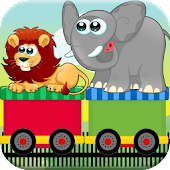 Circus Train Kids Match Game