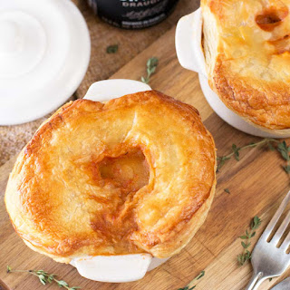 Guinness Beef Stew Pot Pies.