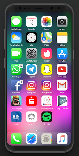 Eleven UI - IOS 12 Icon Pack App Report on Mobile Action - App Store
