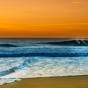 Peniche - Super Tubos by Nuno Neto - Landscapes Sunsets & Sunrises ( surfing, sunset, portugal, surf, portrait, travel photography )