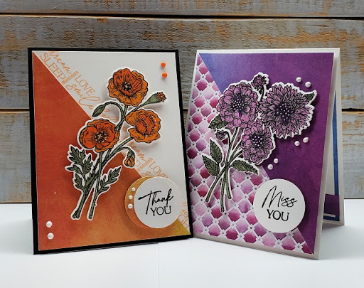 NEW! Pretty Poppies & Delightful Dahlias – by Holly McMillen