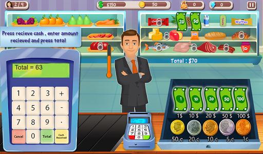 Supermarket Cash Register Sim Screenshot