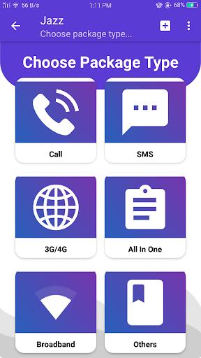 Mobile Packages Pakistan 4.1.0 screenshots 2