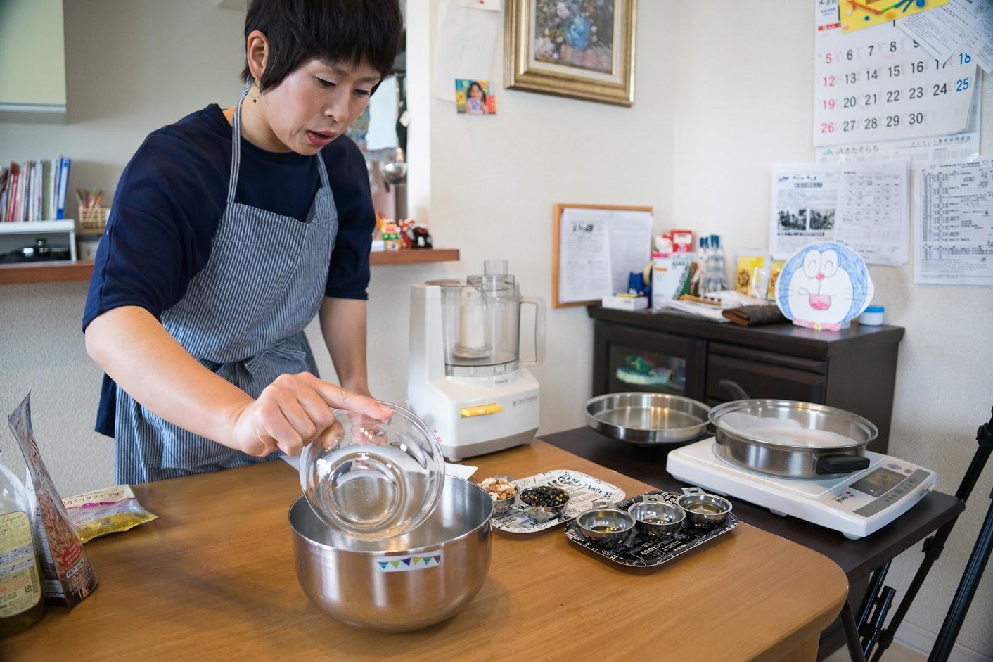 黒千石レシピ:黒千石グラノーラ・作り方