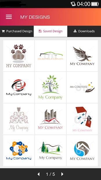 Logo Maker by DesignMantic screenshot 5