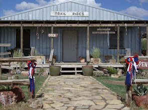 Photo: Located next door to the Big Bend Resort and Adventure, just south of the junction of TX Hwy 118 and FM170.