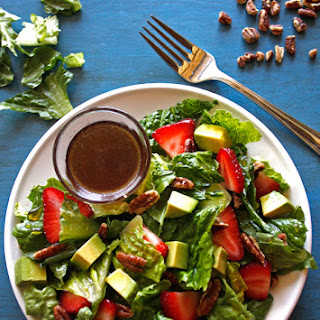 Strawberry Avocado Salad with Sweet Lemon Vinaigrette