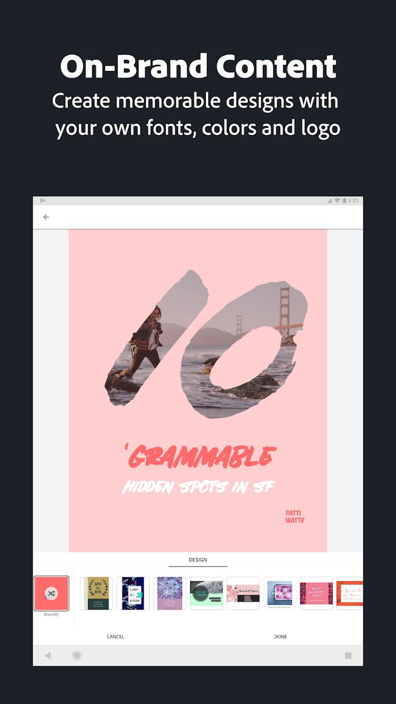 Adobe Spark Post: Graphic design made easy Screenshot 13