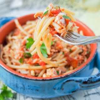 Red Snapper Ragu Pasta