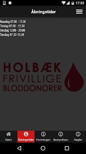 Download Holbæk Frivillige Bloddonorer For PC Windows and Mac apk screenshot 2