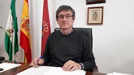 Manuel Cortés, alcalde del municipio abderitano.