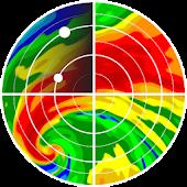 bản đồ radar thời tiết sống Mod
