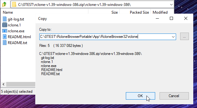 Extract all to App\RcloneBrowser32\rclone
