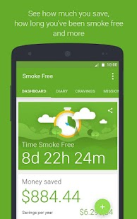 Smoke Free, stop smoking help- screenshot thumbnail