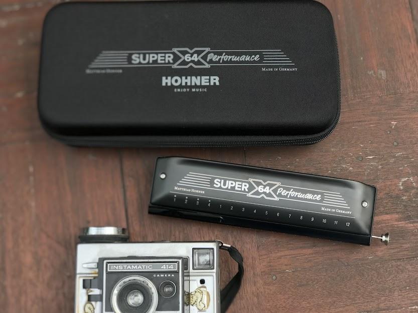 Kèn Harmonica - NEW Hohner Super 64x Performance