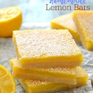 The Best Homemade Lemon Bars