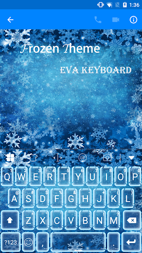 Frozen Eva Keyboard -Diy Gif