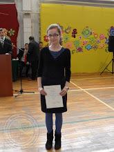 Photo: Laureaci Wojewódzkich Konkursów Przedmiotowych - M. Majewska 2a j.angielski