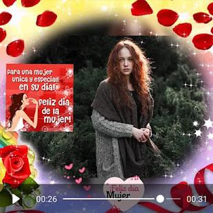 Download Women's day video maker  apk screenshot 4