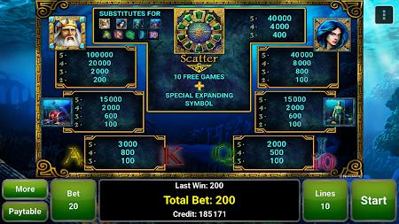 Lord of the Ocean™ Slot 1.1 screenshot 1095689