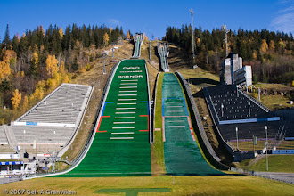 Photo: Lysgårdsbakkene - OL-bakkene på Lillehammer