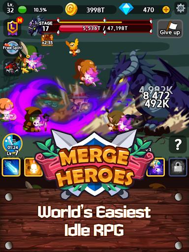Merge Heroes Frontier: Casual RPG Online screenshots apkshin 10