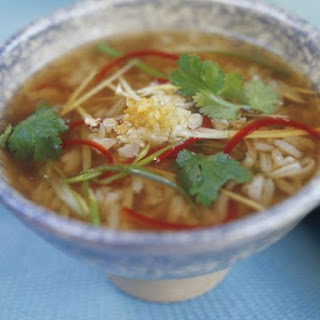 Thai Vegetarian Rice Soup