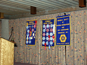 Photo: a fine shot of the Ottawa Valley Chapter award banners