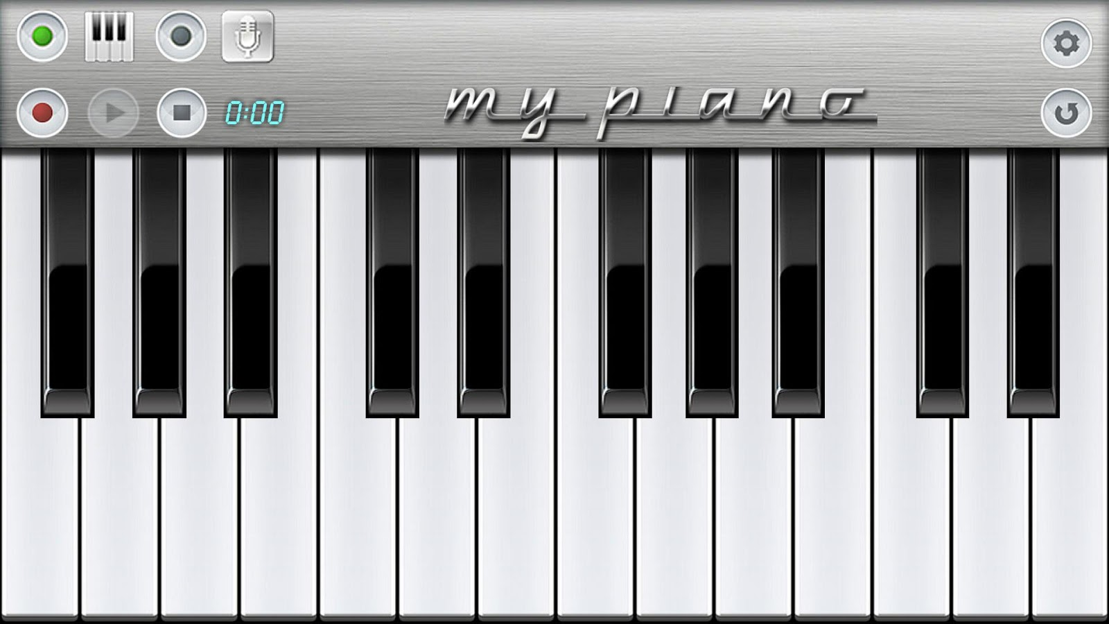 My Piano- screenshot
