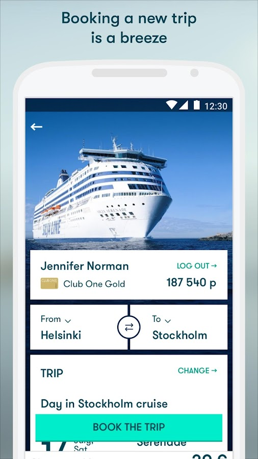 Tallink & Silja Line- screenshot
