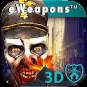 Zombi Cámara 3D Tirador icon