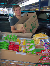 Photo: Sean helped with shopping for Dieu Giac Orphanage