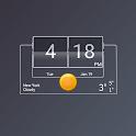 3D Flip Clock Theme Pack 06 icon