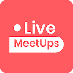 LiveMeetups: Online Meetings, Video Conferencing icon