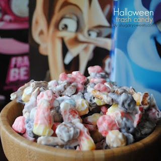 Halloween Trash Candy.