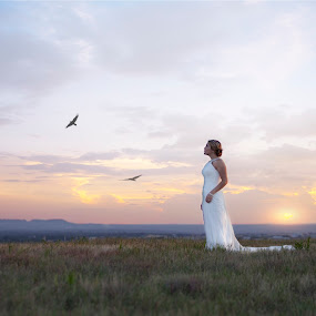 Our Love Will Soar - Shawnessy Ransom Photography © 2013 by Shawnessy Ransom - Wedding Bride ( bridal, wedding gown, wedding, bride )