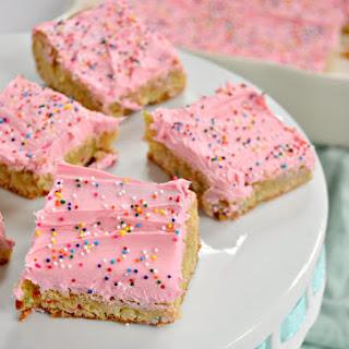 Funfetti Cake Mix Cookie Bars.