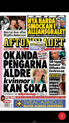 prenumerera på aftonbladets tv tidning
