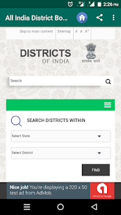 All India District Book - náhled