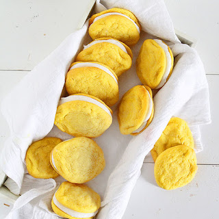 Lemon Sugar Cookie Sandwiches.