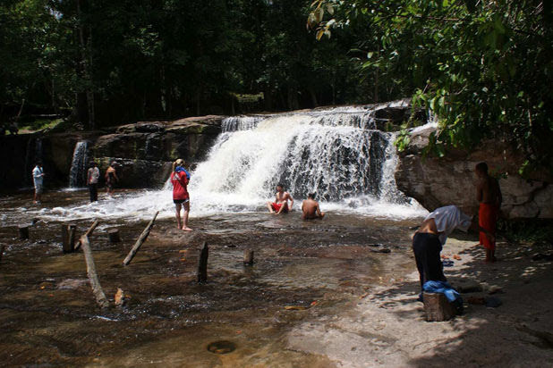 Randonnée à Kbal Spean