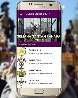 Semana Santa Granada 2017 - screenshot