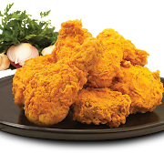 Snowing Vegetable Fried Chicken