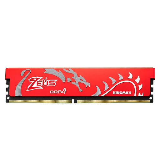 Bộ nhớ DDR4 Kingmax 8GB (2666) ZEUS Dragon Heatsink (Đỏ)