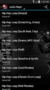 Hip Hop Beats and Ringtones screenshot