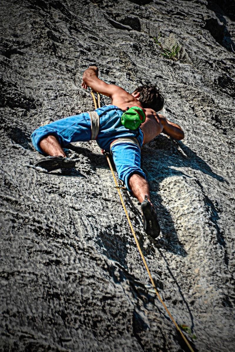 La scalata solitaria di Patrix