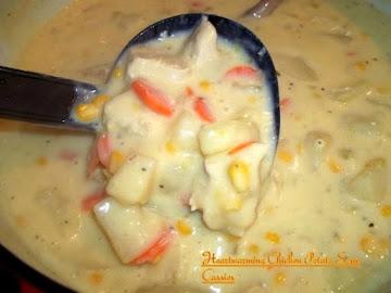 Heartwarming Creamy Chicken Potato Soup Recipe