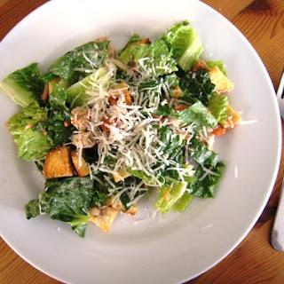 Poorman's Chicken Caesar Salad